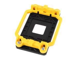 Yellow Black Cooler CPU Fan Bracket Base for AMD AM2 940 Socket