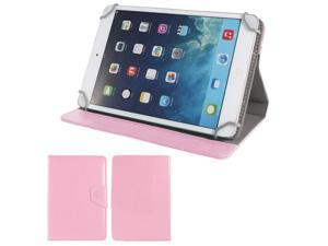"""Pink PU Leather Folio Flip Tablet Case Cover Stand 7"""" for Asus MeMO Pad HD 7"""
