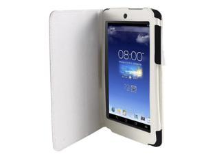 Stand Magnetic Flip Protective Case Cover White for ASUS MeMO Pad HD 7 ME173X