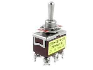 momentary switch newegg com unique bargains ac 250v 15a amps on off on 3 way 6 screw terminals