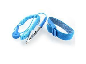 Maya Blue Anti Static Discharge Adjustable Wrist Strap Grounding
