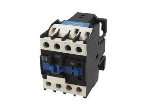 CJX2-2510 DIN Rail Mount AC Contactor 3 Pole One NO 220V Coil 25A