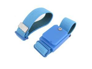 Blue Fabric Stretch Wristband Anti Static Wireless Wrist Strap