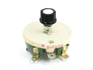 Single Turn Resistor 100W 300 Ohm Volume Control Ceramic Disk Rheostat