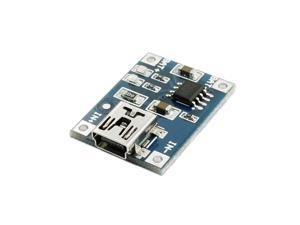 Blue Mini USB Interface 1A Lithium Battery Charging Module 4.5-5.5V
