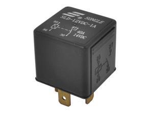 SLD-12VDC-1A DC 12V Coil Voltage 4-Pin Plug in Type PCB Power Relay