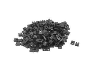 200Pcs CD/DVD Rom Hard Disk Drive Motherboard Shunt Jumpers 2.54mm Black