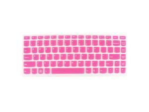 Laptop Keyboard Protector Film Skin Pink Clear for Lenovo Ideapad U310/U400/U410