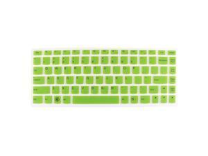 Laptop Keyboard Protector Film Skin Green Clear for Lenovo U410/U310/S405/U300S