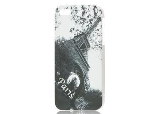 Retro Style Paris Eiffel Tower Hard IMD Back Case Cover for iPhone 5 5G
