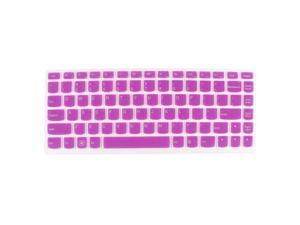 Laptop Keyboard Protector Film Fuchsia Clear for Lenovo Ideapad U310/S405/U410