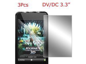 "3.3"" Digital Camera Protector LCD Screen Guard 3 Pcs Pssuh"