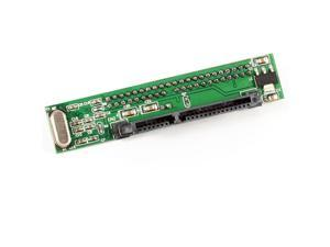 "Straight 2.5"" Male 44 Pin IDE to 7+15 Pin SATA Female Driver Adapter Connector"