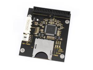 """SD SDHC SDXC MMC Memory Card to IDE 40Pin Male 3.5"""" HDD Adapter Converter"""