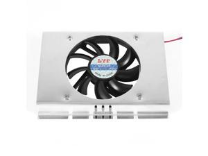 "Sleeve Bearing 4 Pin 5cm Fan 3.5"" Hard Disk HDD Cooling Cooler DC 12V"