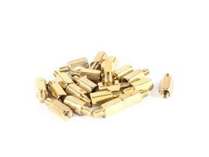 20 Pcs PC PCB Motherboard Brass Standoff Hexagonal Spacer M3 8+4mm