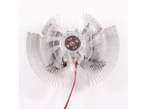 12VDC 2-Pin Graphics Video Card VGA Cooler Heatsink Cooling Fan for Computer