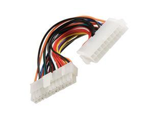 """7.8"""" Long 20 Pin Male to 24 Pin Female ATX Power Cable"""