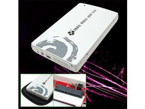 "USB 2.0 Portable Enclosure for 2.5"" SATA Hard Drive New"