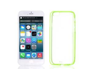 """Clear Yellow Green Smooth Acrylic Protective Cover Case for Apple iPhone 6G 4.7"""""""