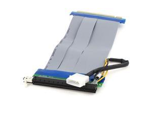 21.5cm 2Pin Power Connector PCI-E Express PCIe 16x Extender Cable Riser Card
