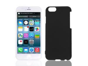 Hard Plastic Back Skin Shell Case Cover Black for Apple iPhone 6 6G 5.5 Inchs