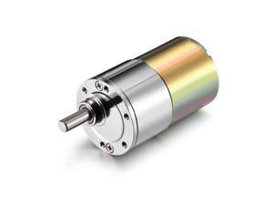 DC 12V 87RPM Micro Gear Box Motor Speed Reduction Gearbox Eccentric Output Shaft