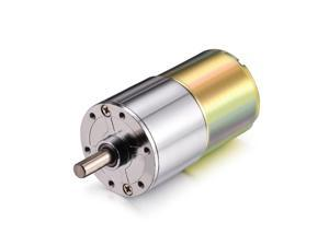 DC 24V 100RPM Micro Gear Box Motor Speed Reduction Gearbox Centric Output Shaft