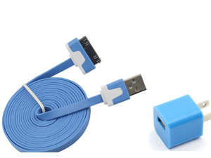 2 M USB 2.0 Extension Data Cable for Apple iPhone 4/4S iPad 3/2 iPod