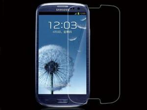 Tempered Glass Screen Protector for Samsung Galaxy S3 S III i9300 - 1 Pack - Retail Packaging