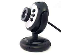 SANOXY® USB 6 LED PC Webcam Camera plus + Night Vision MSN, ICQ, AIM, Skype, Net Meeting and compatible with Win 98 / 2000 / NT / Me / XP / Vista