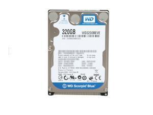 Western Digital 320GB 5400RPM PATA IDE 8MB Internal 2.5 Notebook Hard Drive - WD3200BEVE