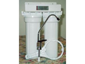 Ceramic Double Undercounter Water Filter With Doulton Ultracarb Cartridge and Flouride Removal Cartridge