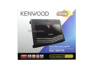 Kenwood KAC-5001PS 500W RMS Class D Monoblock Car Audio Amplifier KAC5001PS