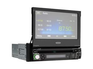 "Jensen VX7010 7"" Single Din Video Car Stereo Receiver with GPS Navigation"