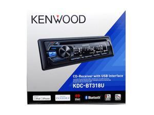 Kenwood KDC-BT318U Car CD Receiver w/ Bluetooth USB and Aux Inputs KDCBT318U