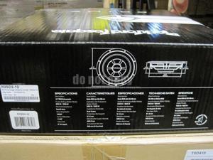 "Rockford Fosgate R2SD2-12 12"" Shallow Mount Sub Dual 2 ohm Voice Coils 500W"