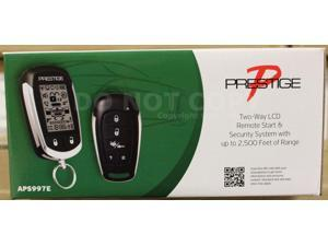 Audiovox Prestige APS997E 2-Way LCD Remote Start & Alarm System Replaces APS997C