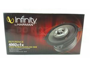 "INFINITY REF-4002CFX CAR AUDIO STEREO 4"" 2-WAY REFERENCE COAXIAL SPEAKERS PAIR"