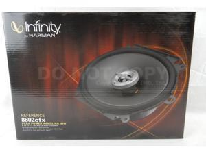 "Infinity Reference 8602CFX 6""x8"" Car Speakers NEW Pair (REF-8602CFX)"