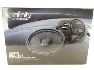 "Infinity Kappa 682.11CF 5""x7"" 6X8"" 300W 2-way Car Speakers (68211CF)"