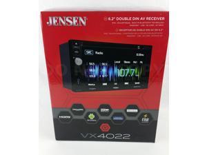 """Jensen VX4022 6.2"""" Double DIN DVD Receiver w\ Bluetooth (Replaced VX4020)"""