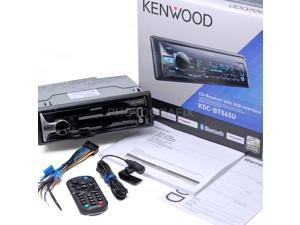 Kenwood KDC-BT565U In Dash Car CD Receiver with Bluetooth (Replaced KDC-BT562U)