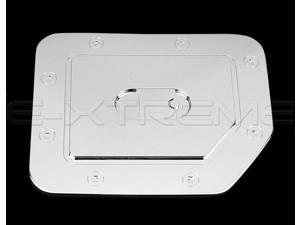 FOR NISSAN TITAN 2004-2012 CHROME GAS TANK FUEL DOOR COVER
