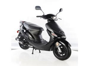 TaoTao ATM50-A1 Gas Street Legal Scooter - Black, 50cc, Automatic