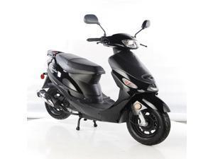 TaoTao ATM50-A1 Gas Street Legal Scooter - Black, 50cc, Automatic