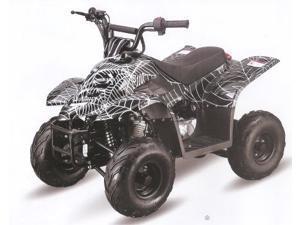 Tao Tao 110cc Boulder ATV - Savage White Black