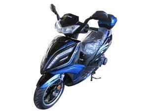 TaoTao 150cc Quantum Tour Scooter - Blue