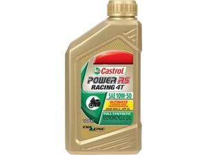 Castrol 6412 Power Rs Racing 4T 100% Synthetic 10W-50 1Qt