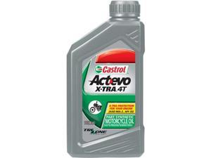 Castrol 6400 Act-Evo X-Tra 4T Synthetic Blend 10W-30 1Qt